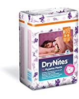 Huggies - Dry Nites - 3-5 ans - Fille - 16 Couches