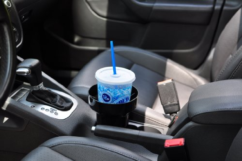 Black Auto Cup Holder Insert;Car Cup Holder Inserts;RV