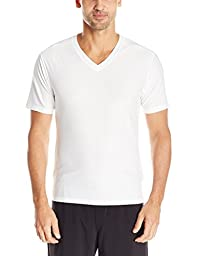ExOfficio Men\'s Give-n-Go V Underwear Tee, White, Large