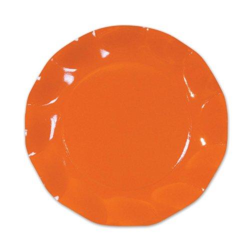 Orange Large Plates (10/Pkg)