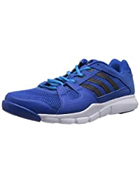 Adidas Men's Gym Warrior, BLUE/BLACK/WHITE