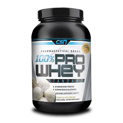 CSN 3lb Pro Whey Protein (Vanilla Ice Cream) (Csn Protein Vanilla Ice Cream compare prices)