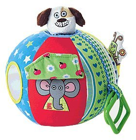 "Tiny Tillia Baby 6"" Sensory Ball - Interactive play"