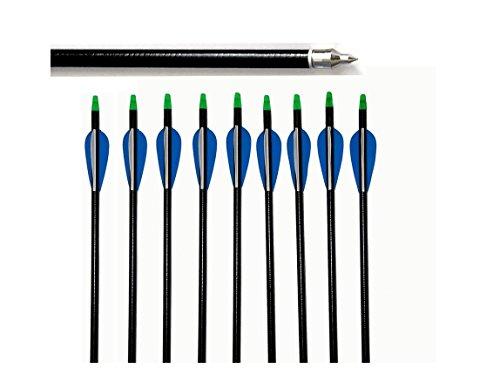 fleches-12x31-tir-a-larc-en-fibre-de-verre-31-pouces-convient-pour-le-compose-et-arcs-classiques-ble