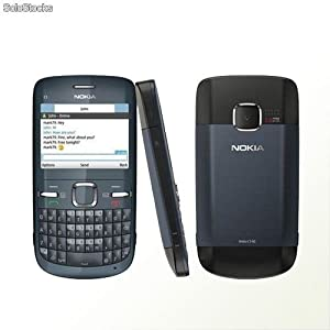 Nokia C3-00 Cell Phone(at&t) with Qwerty, Dedicated E-mail Key, 2 Mp Camera, Media Player, Wlan, and Microsd Slot--u.s. Version with Warranty (Slate).
