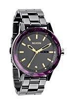 Nixon A2631345 Spur Gunmetal / Velvet Unisex Watch NEW