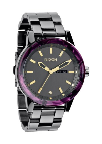 Nixon A2631345 Spur Gunmetal / Velvet Unisex Watch NEW