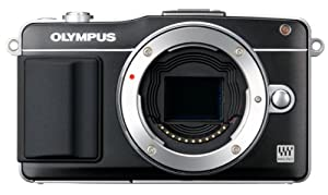 Olympus E-PM2 Interchangeable Lens Digital Camera (Body Only) (Black) (Old Model)