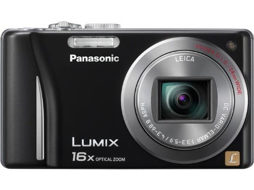 Panasonic Lumix DMC-ZS8 14.1 MP Digital Camera with 16x Wide Angle Optical Image Stabilized Zoom and 3.0-Inch LCD (Black)