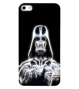 ColourCraft Digital Skeleton Design Back Case Cover for APPLE IPHONE 4S