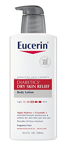Eucerin Diabetics' Dry Skin Relief Body Lotion, 16.9 fl oz
