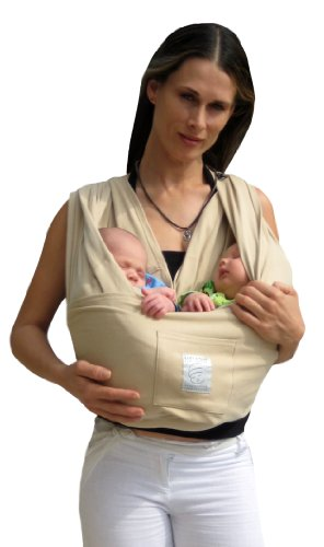 Baby K'Tan Baby Carrier, Soft Sand, X-Large