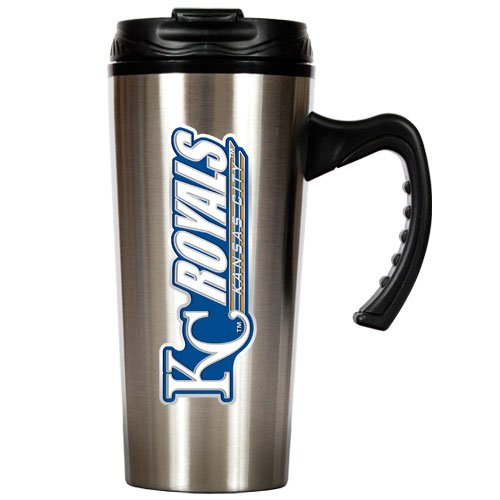 MLB Kansas City Royals 16-Ounce Stainless Steel Travel Mug at Amazon.com