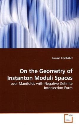 On the Geometry of Instanton Moduli Spaces: over Manifolds with Negative Definite Intersection Form