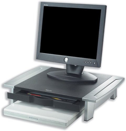 Brand New. Fellowes Office Suites Monitor Riser Small Height-adjustable Capacity 36kg Ref 80311