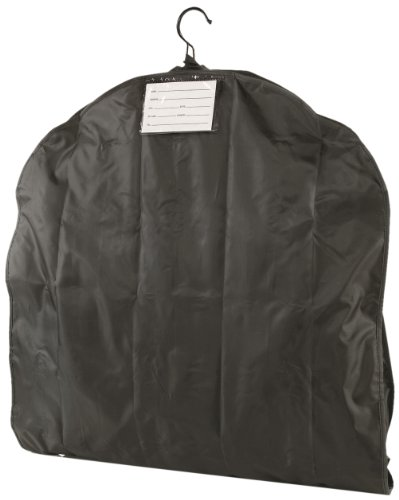 Travel Smart Nylon Garment Bag, Black, 50 Inch (Long) X 24 Inch (Wide)