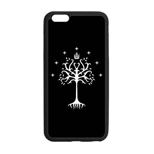 White Tree of Gondor The Lord of the Rings Phone Case [Customizable by Buyers] [Create Your Own Phone Case] Slim Fitted Hard Protector Cover for iPhone 6