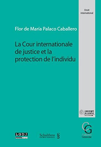 La Cour internationale de justice et la protection de l individu