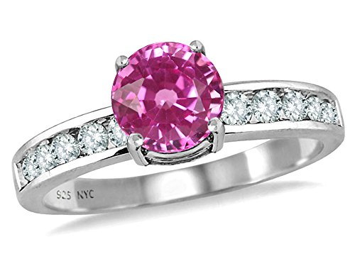 Star-K-Round-7mm-Created-Pink-Sapphire-Ring-Sterling-Silver