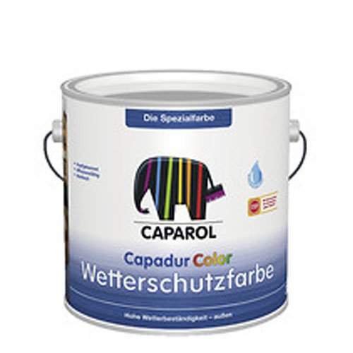 Caparol Capadur Color Weiß Wetterschutzfarbe deckend 2,5 Liter