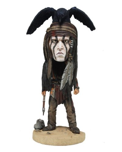 The Lone Ranger Tonto Head Knocker Figure