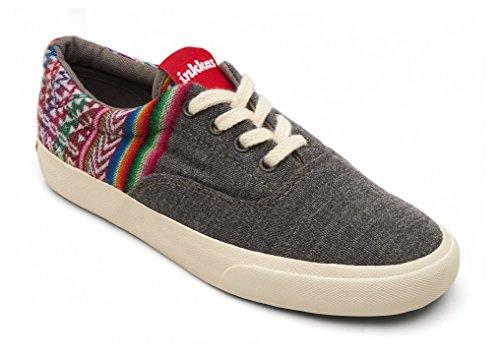 Inkkas Unisex Lynx Oxford Low Top Sneaker