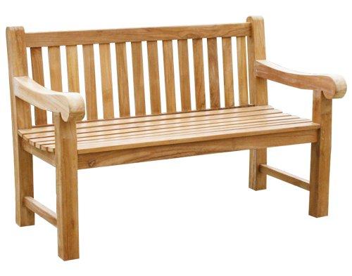 "KMH®, 3-sitzer Gartenbank ""Balmoral"" – ECHT TEAK! (#102062) jetzt kaufen"
