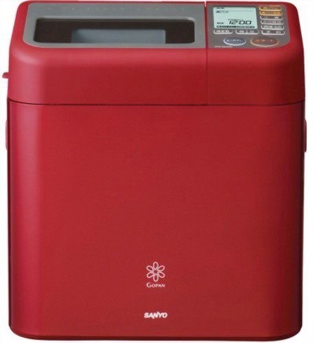 SANYO rice bread cooker Gopan Premium Red SPM-RB1000 (R)...