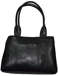 Knott Fahionable Multipurpose Black Hand Bag For Women