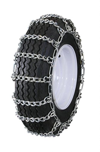 Learn More About Grizzlar GTU-236 Garden Tractor Snowblower 2 link Ladder Alloy Tire Chains 12.5x4.5...