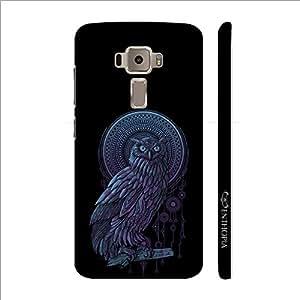 Enthopia Designer Hardshell Case Holy Owl Back Cover for Asus Zenfone 3 ZE520KL