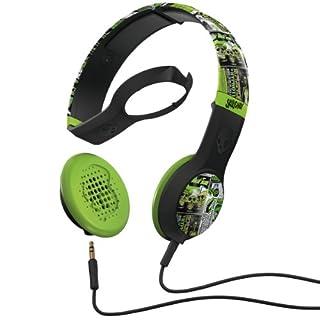 Skullcandy Cassette Headphones w/Mic Lurker Toxic Flyer (2012 Color), One Size