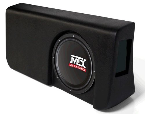 "Mtx Amplified, Loaded Sub Enclosure For Ford F-150 2009-2010 Super Crew W 10"" Mtx Sub"