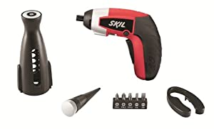 SKIL iXO Vivo 2354-10 Compact 4-Volt Max Cordless Lithium-Ion Driver Combo Kit with Wine Opener