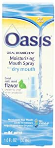 Oasis Mouth Moisturizing Spray, Mild Mint, 1 Fl oz (30 ml)