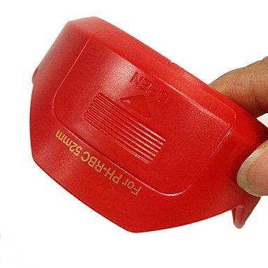 LLSai-PH-RBC Lens Hood Shade for Pentax DA 18-55mm f/3.5-5.6 AL WR 52mm Filter Thread (Red) (55mm Vented compare prices)