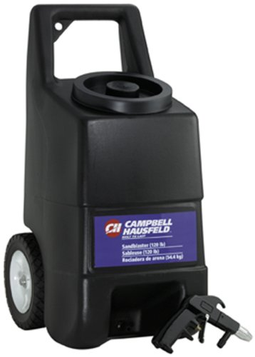 Read About Campbell Hausfeld AT1211 120 lb Capacity Sandblaster