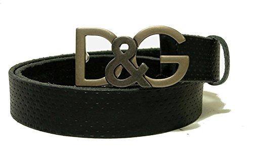 (ドルチェ&ガッバーナ) DOLCE&GABBANAベルト メンズ エンボスレザー(ブラック) BC3735 A1464 80999 (メーカーサイズ:90cm) DG-1416 [並行輸入品]