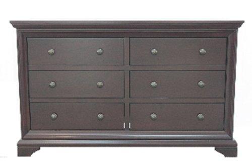 Westwood Design Brookline Double Dresser, Chocolate Mist - 1