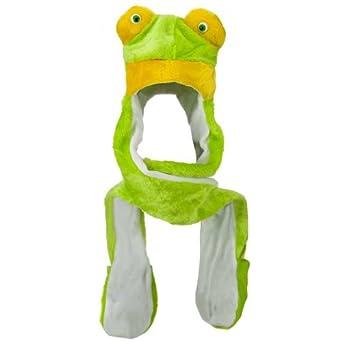 SW Mitten Animal Hat - Frog W05S51F