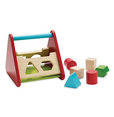 Manhattan Toy Shape Sort Wooden In and Out Learning Toy - 1