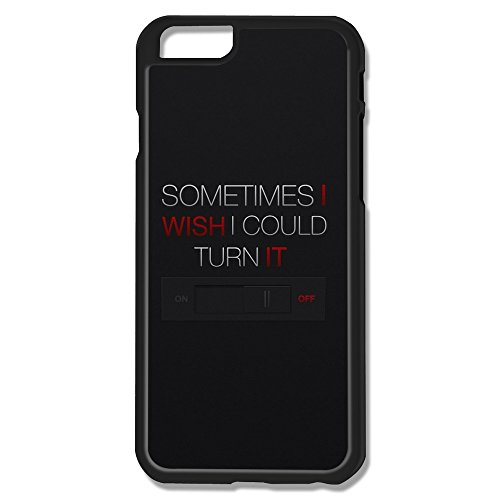 Sayings Plastic Pop Case Cover For Iphone 6