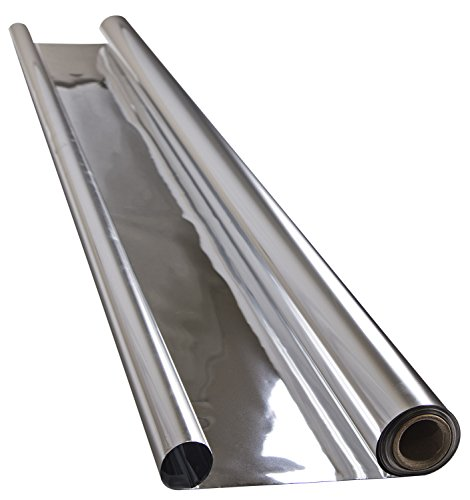 Apollo Horticulture 2 Mil Reflective Mylar Sheet Roll - 4' x 25' (Mylar Sheets compare prices)