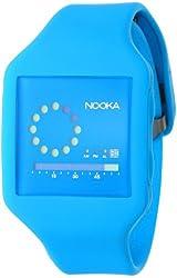 """Nooka Unisex ZUB-ZIRC-NB-20 """"Zub Zirc"""" Watch with Blue Band"""