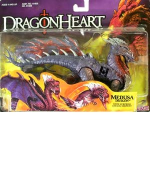 Dragonheart Medusa Dragon Action Figure by Kenner (Medusa Action Figure compare prices)