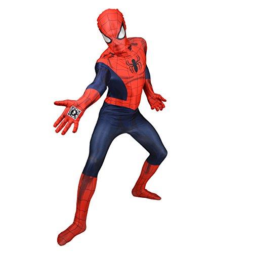 Morphsuits MLZSPM - Costume di Spiderman Zappar, M