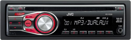 JVC kdr330 50×4 Car CD Player with Dual Aux Inputs image