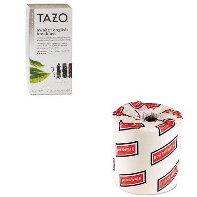 Kitbwk6180Tzo149898 - Value Kit - Tazo Tea Bags (Tzo149898) And White 2-Ply Toilet Tissue, 4.5Quot; X 3Quot; Sheet Size (Bwk6180)