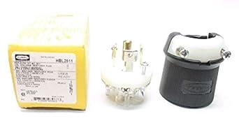 hubbell wiring device kellems hbl2811 electrical plug 30. Black Bedroom Furniture Sets. Home Design Ideas