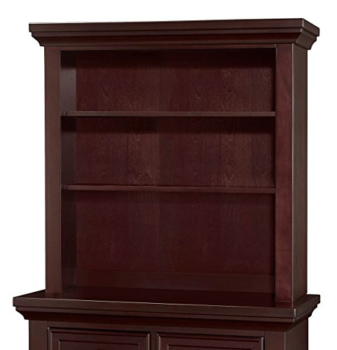 Westwood Design Geneva Combo Bookcase or Hutch, Chocolate Mist